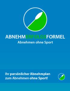 Die Abnehmerfolgsformel - Abnhemen, ohne Sport | Cover Ebook