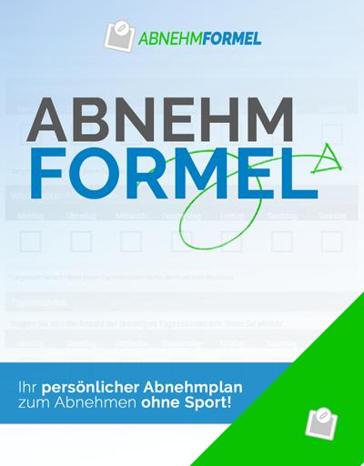Abnehmformel - Abnehmen ohne Sport   Idealgewicht   Cover Ebook