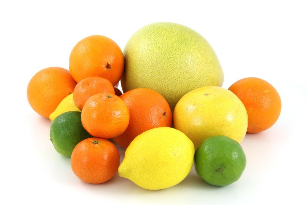 Zitrusfrüchte   natürliche Fatburner