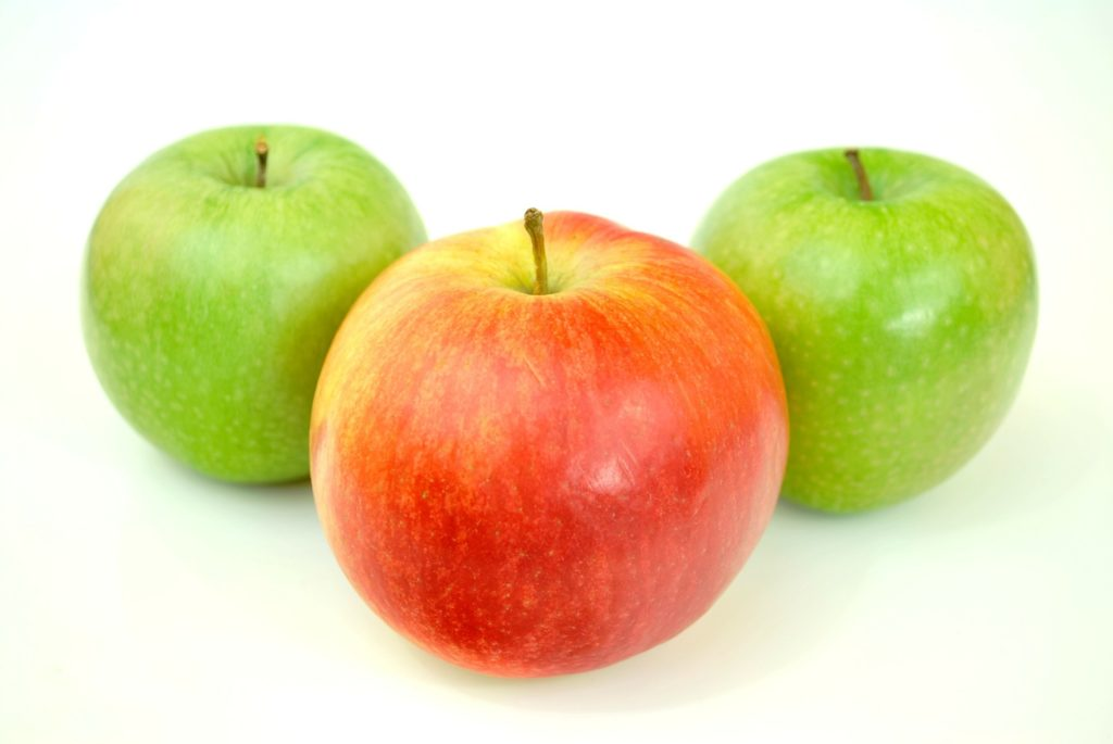 Äpfel   natürlicher Fatburner